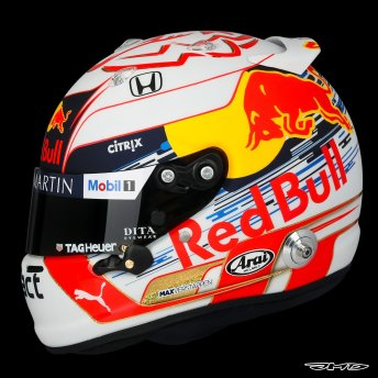 Casque de Max Verstappen version 2019