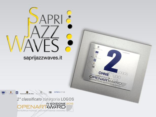 ohnestudio.it, agenzia pubblicitaria, napoli, logo Sapri Jazz Waves
