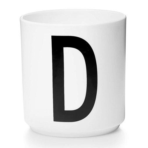 weisse Tasse von Designletters