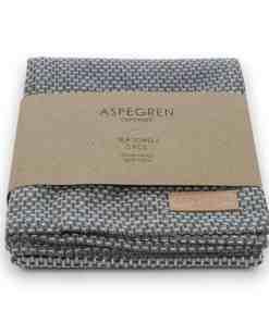Geschirrtuch dark grey von Aspegren