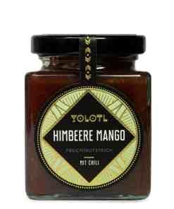Fruchtaufstrich Himbeere Mango Chili von Yolotl