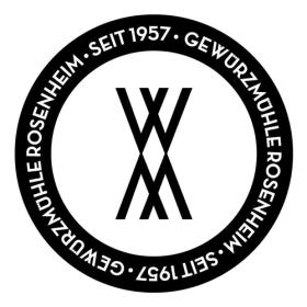 Gewürzmühle Rosenheim-Logo