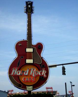 Hard Rock Cafe in Nashville