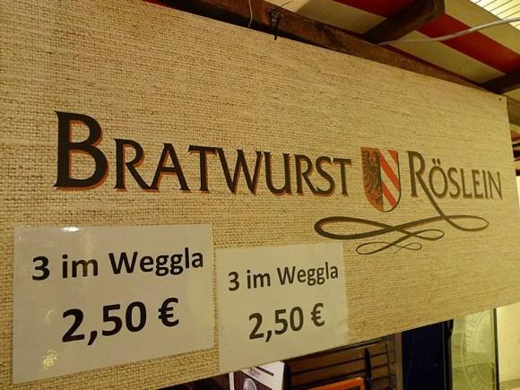 Nürnberger Bratwurst Impressionen