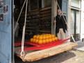 Historische Kösewaage in Edam