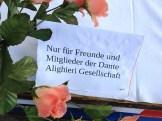 Die Tafel der Dante Alighieri Gesellschaft Nürnberg