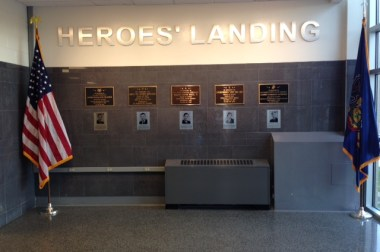 Cedar Cliff High School JROTC Dedicates Heroes' Landing Memorial