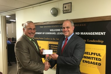 Chapter Makes 2017 Donations to Charitable Organizations