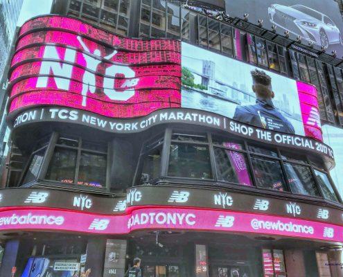 New-York-City-Marathon, Lultras, PreRace 2017, Time Square