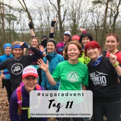 zuckerfrei ernähren - gemeinsam sport machen