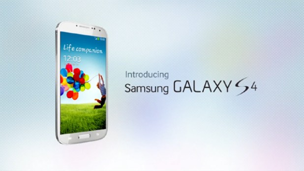 Introducing the Samsung Galaxy S4