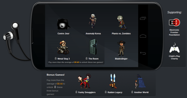 The Humble Mobile Bundle (pay what you want and help charity)