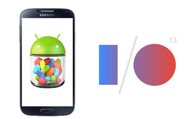 Galaxy S4 Stock at Google IO