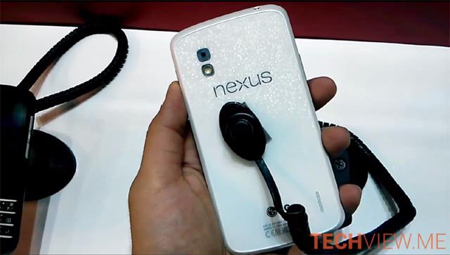 White Nexus 4 Qualcomm