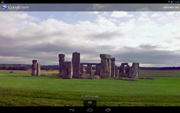 Street View Google Earth