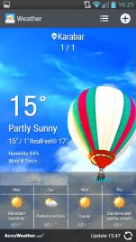 LG Weather App
