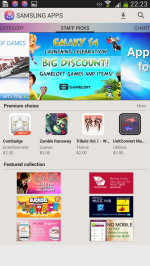 Samsung's App Store