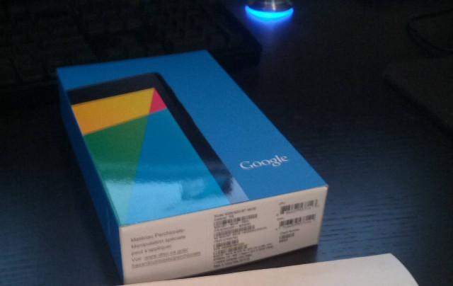 Nexus 7 Mk II packaging