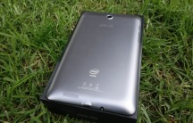 The mostly-metal rear of the Fonepad