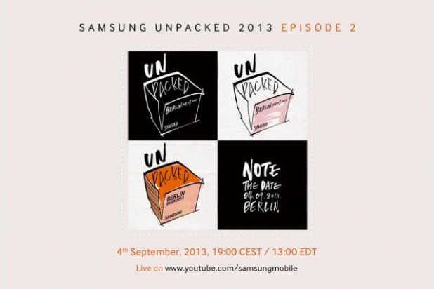 Samsung Unpacked 2013 - Episode 2 - Note The Date