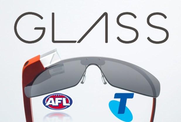 Telstra AFL Glass