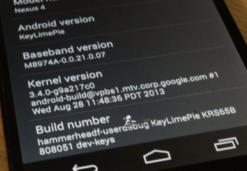 EXCLUSIVE  Android 4.4 hands on with pictures 2