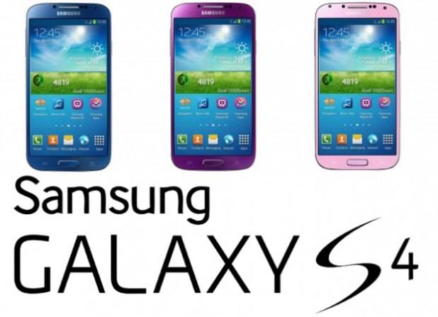 Galaxy S4 Colours