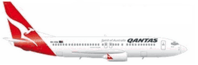 Qantas 737-400