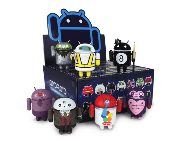 Dead Zebra Android mini collectibles series 3