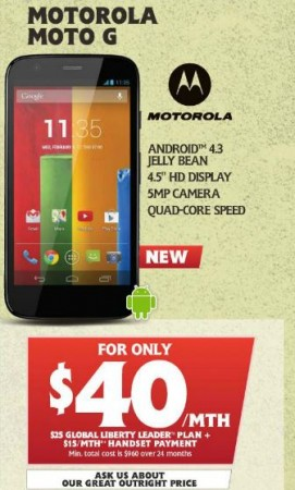 Moto G Telechoice Catalogue