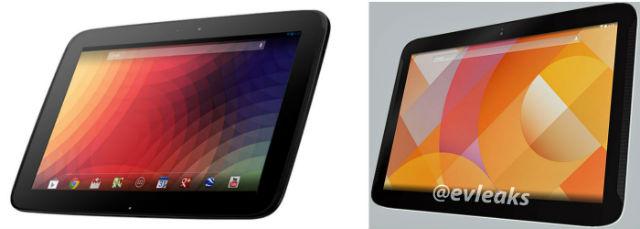 Nexus 10 comparison