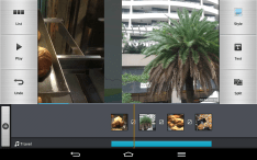 LG's Video Editor is alright, for a free packed-in video editing app. It's also sporting that brushed metal look.