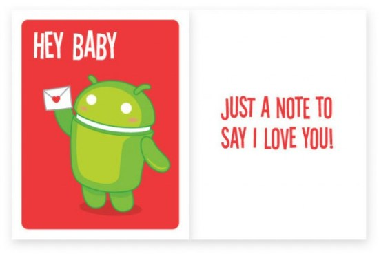 Android Foundry Valentines Day Card 2