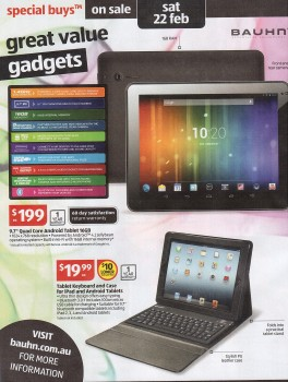 Bauhn Tablet and Case Catalogue