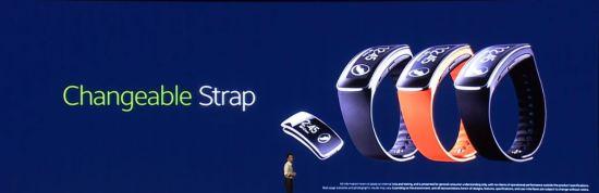 Gear Fit Changeable Strap