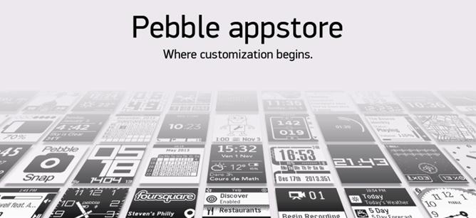 Pebble App Store pic