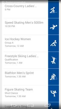 Sochi 2014 Google Now 2