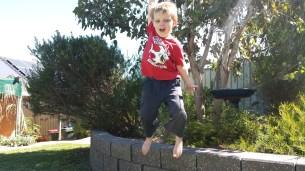 A brave leap
