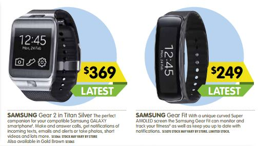 Dick Smith ready themselves for the Galaxy S5 and Gear 2 ...