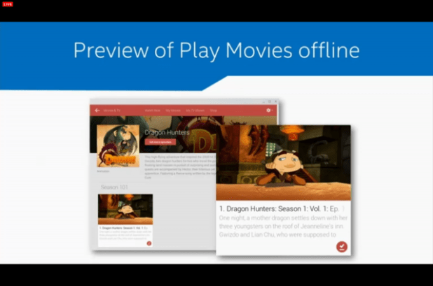 PLay Movies Offline for ChromeOS