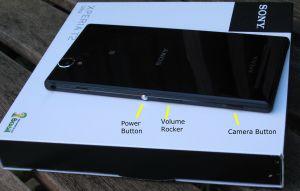 Power, Volume, Camera buttons
