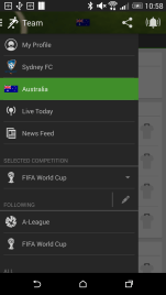 Easy to access menu