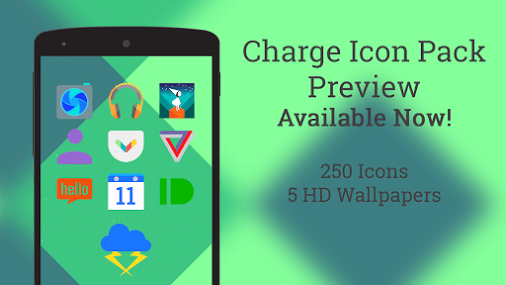 Charge Icon Pack Preview