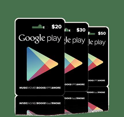 Google Play Gift Card - $30 AUD