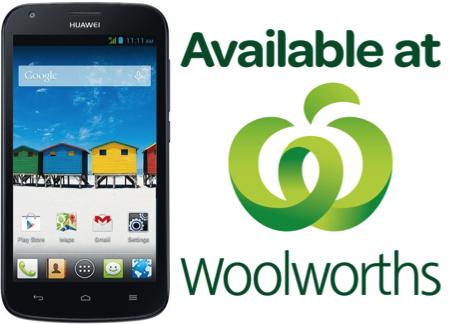 Huawei Y600 Woolies