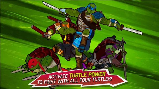 TMNT Game Screenshot 1