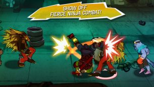TMNT Game Screenshot 2