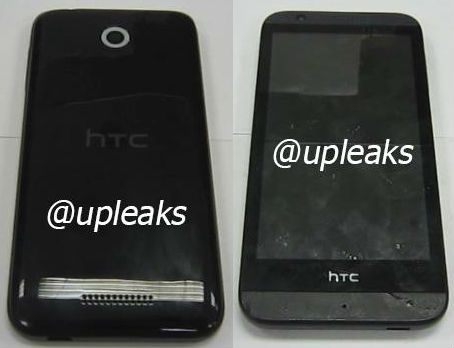HTC A11 - Front and Rear