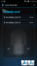 Bundled App: Voice Recorder