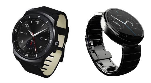 LG G Watch - Motorola Moto 360